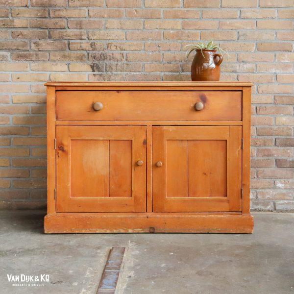 Brocante houten kastje