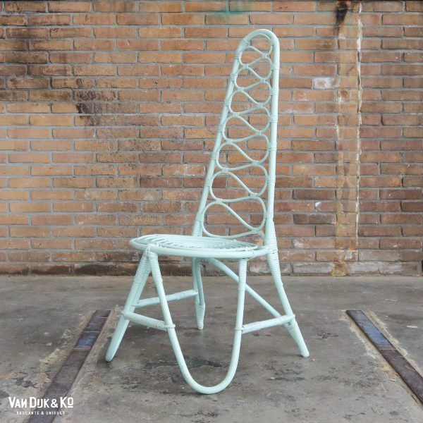 Rotan mint stoel